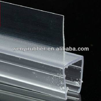 Clear Plastic Shower Door Seal Strip In China