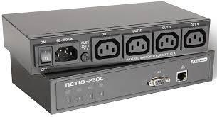 Netio230C Network Power Socket Remote Control of Devices via Internet LAN IP Power Reboot Watchdog Rackmount