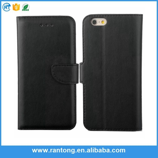 Factory sale unique design pu leather flip phone case for iphone5 for wholesale