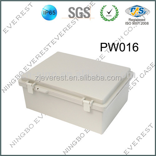 Large size plastic waterproof dustproof electronic outdoor enclosure