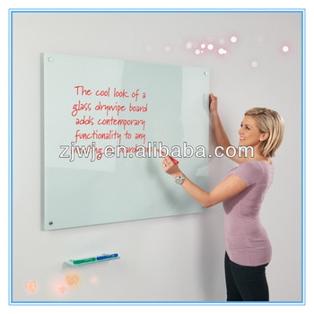 Made in China tempered glass magnetic glass whiteboard