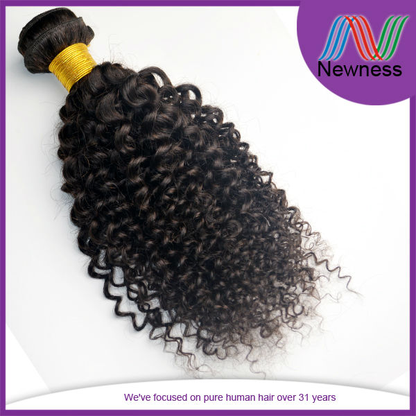 20 Inch Virgin Brazilian Afro Kinky Curly Remy Weave Soft And Free Hair Products