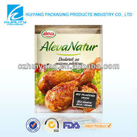 Clear chicken spice packaging plastic bag manufacturer