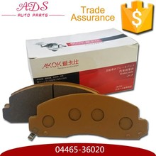 brake pad adhesives for toyota coaster oem 04465-36020