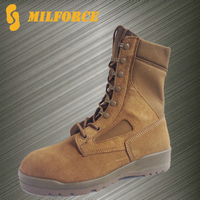 Professional factory Coyote waterproof cheap military desert boots