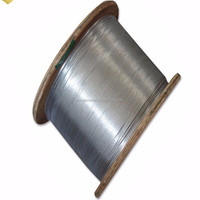 1x7 Ehs 1/ 4 ' Galvanized Steel Cable Stay Wire Galvanized Steel Cord