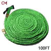High garden hose sprinkler brass fittings nozzles expandable pipe car wash equipment retractable hose garden