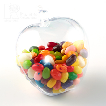 Kwang Hsieh Free Sample Clear Plastic Apple Shape Candy Container