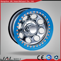 2016 Newest Custom Beadlock Steel China Factory 16x10 steel wheels