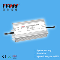 Waterproof 60W 12v 5A led power supply