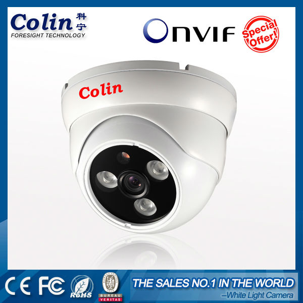 Colin real color night vision white light 720p 1080p auto rotate ir cctv dome camera wiki