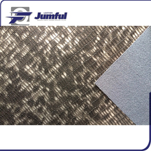 Anti-Mildew PU reflective artificial synthetic baseball leather fabric