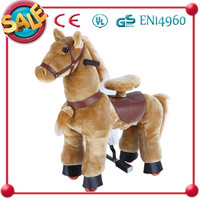 HI CE Funny playing spring ride on horse toy pony for kids