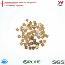Custom Electronic Components Fabrication ODM OEM Precision Brass Electrical Contacts For Battery