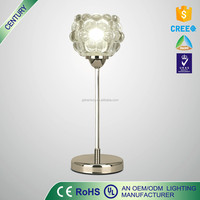 CE ROHS UL certificate European Metal Table Lamp Modern Table light Restaurent table lamp