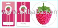 Raspberry Car Home Paper Hanging Air Freshener