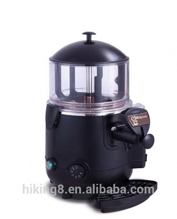 5L Commercial electric hot chocolate dispenser with new design