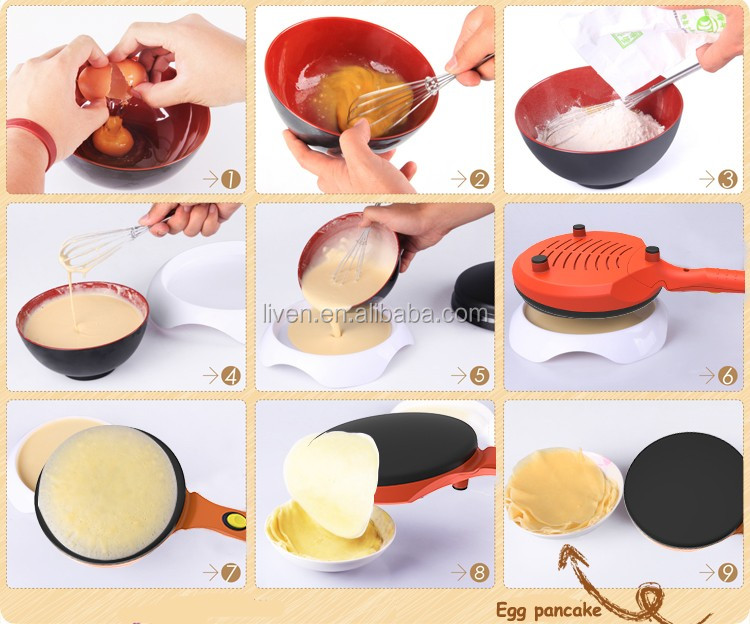 Mini Electric Crepe Maker of BC-411A