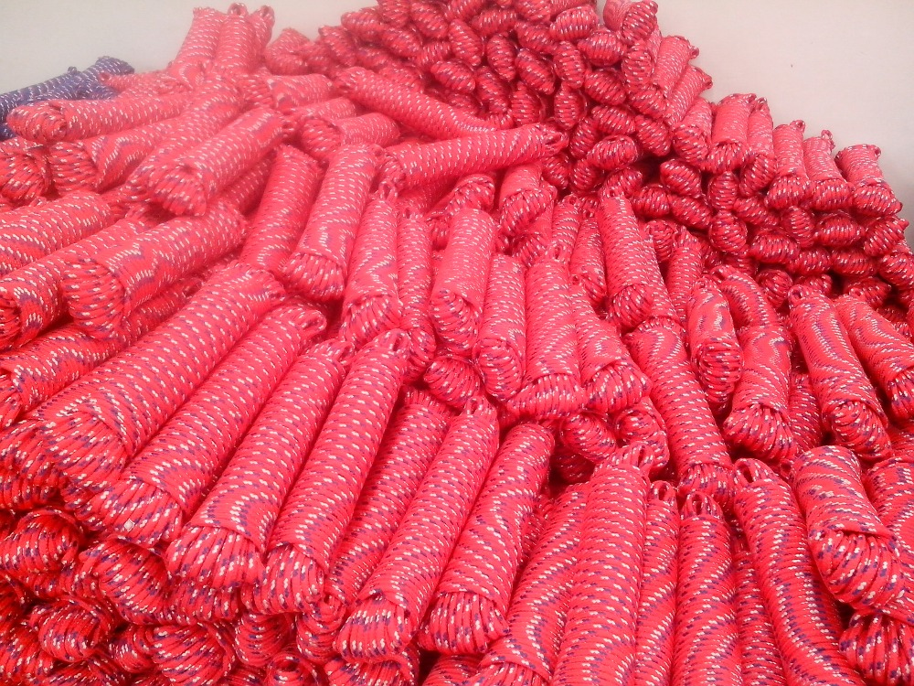 3/8'' Braided Polypropylene General Purpose Rope Great For Boating & General Use