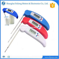 Digital folding Food Meat BBQ Instant Read Thermometer with Probe for Cooking and Grilling