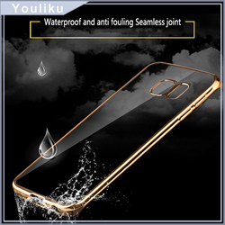 Ultra thin transparent phone accessories cheap silicon case for iphone 6 tpu case for samsung galaxy s7 edge