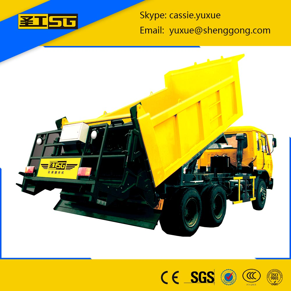 Road Construction Mechanical Aggregate/ Stone Chip Spreader