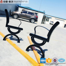 Customized galvanized steel sheet black park bench leg