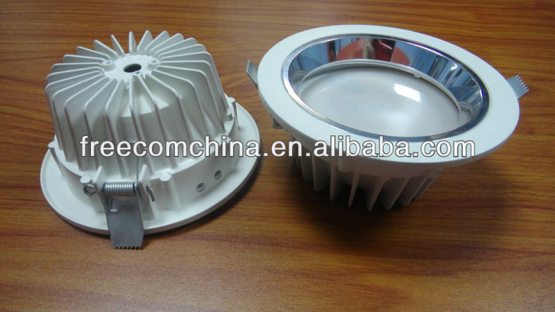 Round Aluminum LED Die Casting Downlight(ONLY COMPONENTS)