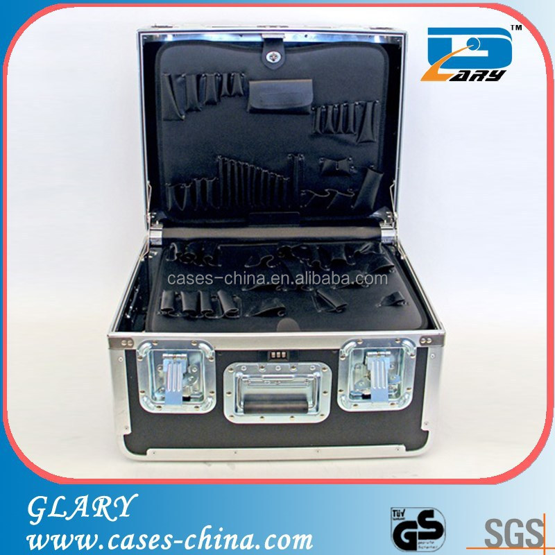 professional rugged equipment heavy-duty aluminum tool case