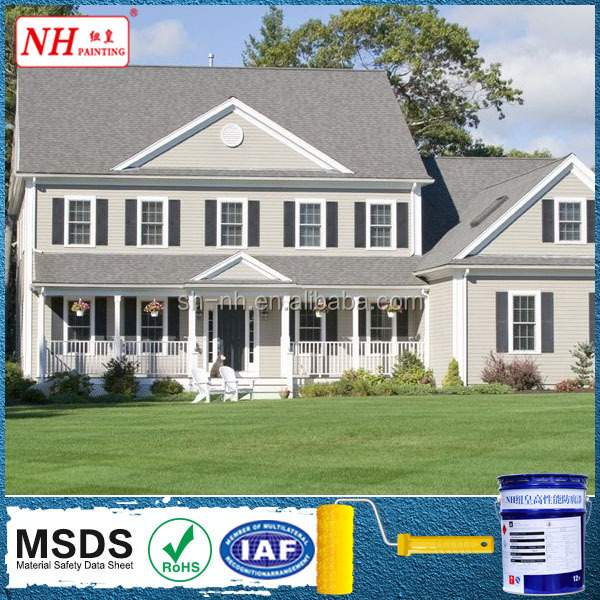 High Washability fluorocarbon wall paint