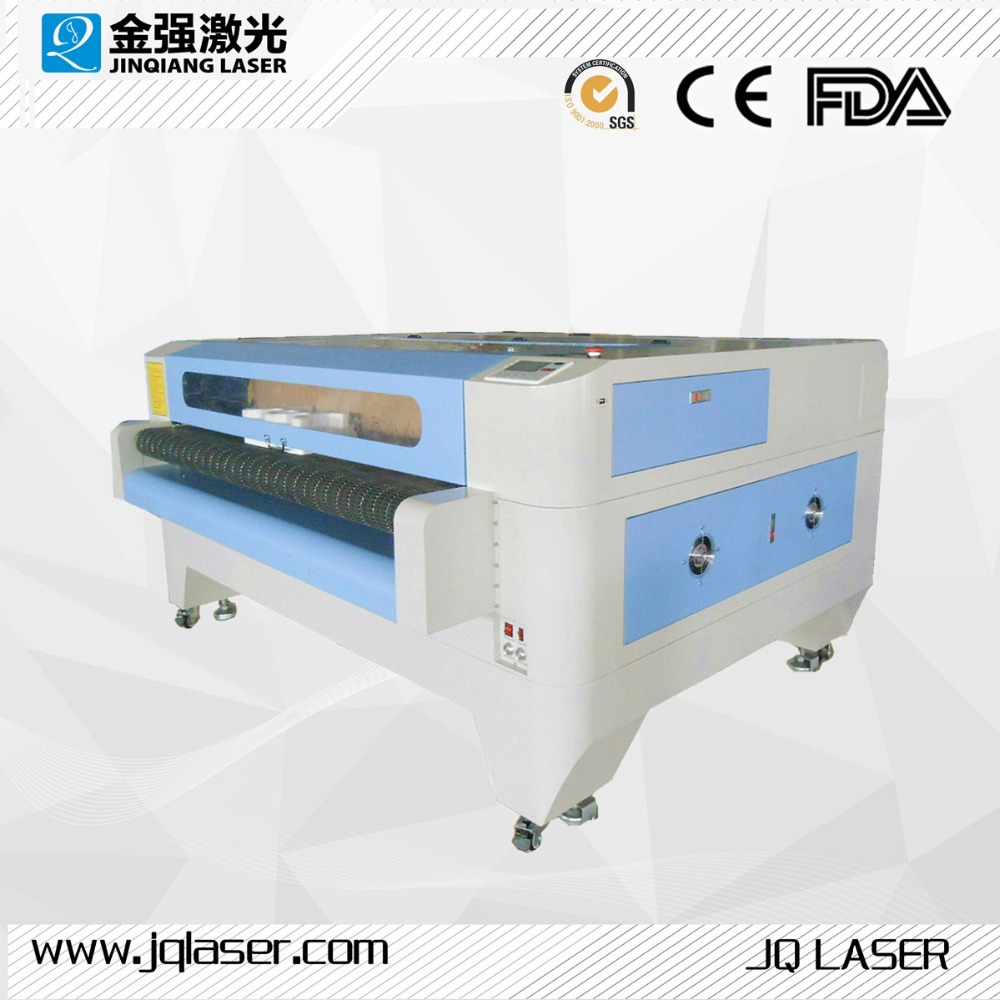 1610 automatic cnc cloth fabric laser cutting machine for sale / laser engraver 1610 price laser engraving machine for nonmetal
