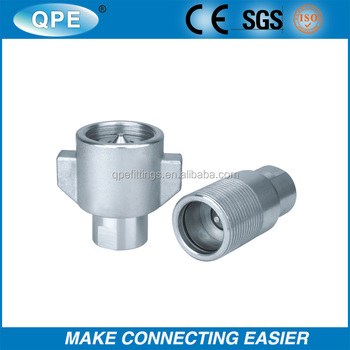Thread-To-Connect Under Pressure Couplings