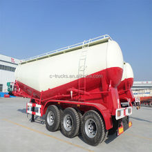good quality china 3 axles bulk cement transportation vehicle