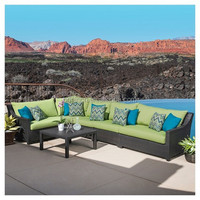 rust resistant double seat and patio armless chairs corner outdoor sofa set designs and prices