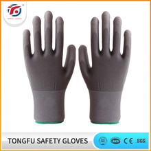 antistatic pu hand glove for electrical working