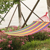 Wood Hang Canvas Hammock