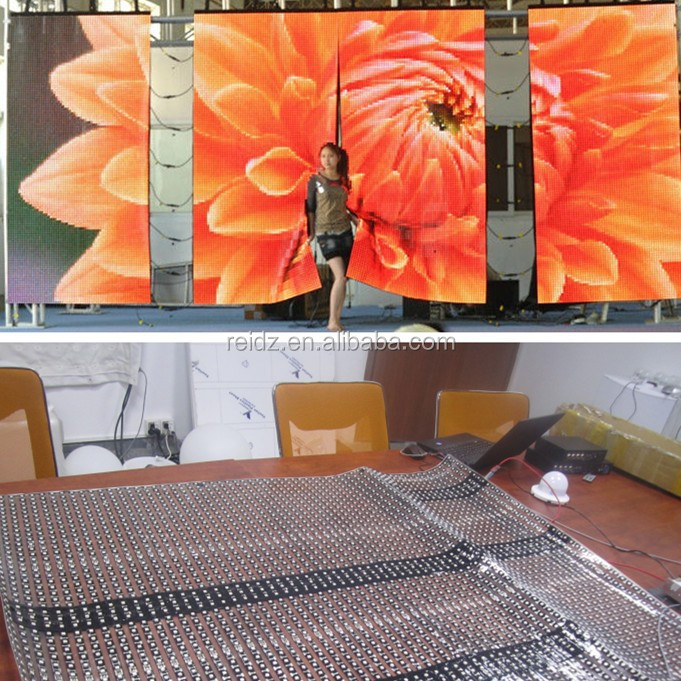 Shenzhen P20 Outdoor Led Video Wall / Flexible LED Video Wall for Stage,Dj,Club,Rental,Events