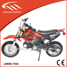 110cc dirt bike racing dirt bikes salecheap with best quality and automtic gear with CE LMDB-110A