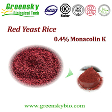 Factory Red Rice Yeast 0.4~0.6% Lovastatin/ Monacolin K /natural plant extract