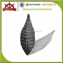 manufacturer wrought iron cast iron leaves, wrought iron gate ornaments 4252