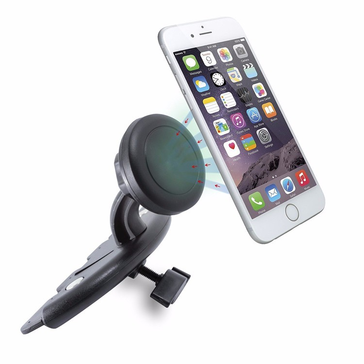 Universal CD Slot Car Mount phone Holder Cradle for iPhone 7S 7plus