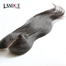 Brazilian Straight Lace Closure 4*4 Size Human Hair Lace Closure Middle/Free/3 Part Brazilian Virgin Hair Closure Natural Color