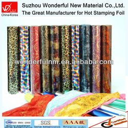 updated fashion textile hot stamping foil