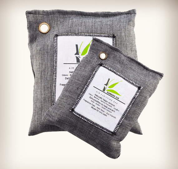 Odor and Moisture Eliminator Bamboo Charcoal Sachet Air Freshener