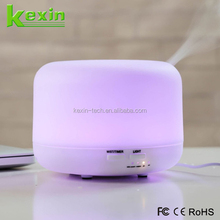Christmas Gift LED Lamp 300ML Ultrasonic Humidifier Electric Aroma Essential oil Diffuser