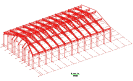 SBS Low Cost Prefabricated Construction for Steel Structure Hangar Building
