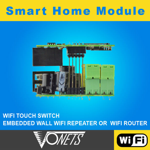 vonets professional VHA300 300mbps smart home touch control panel