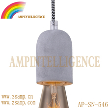 New-design Modern Ancient Light Concrete Pendant Lamps Vintage Cement Hanging Light