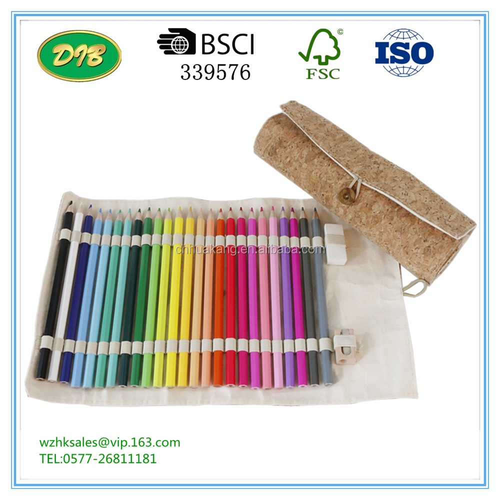 Direct Factory Price cork Holder Pencil Case With Stationery Set