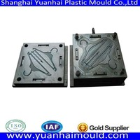 oem custom plastic clothes hanger mould with multi cavity maker